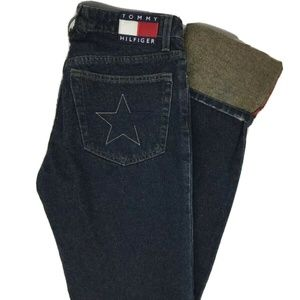 Tommy Hilfiger sz 7 Fly Girl Cuffed Hipster Jeans